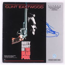 """Clint Eastwood Signed """"Dirty Harry in the Dead Pool"""" LaserDisc Cover (PSA LOA)"""