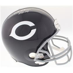 """Dick Butkus Signed Chicago Bears Full-Size Throwback Helmet Inscribed """"HOF 79"""" (JSA COA)"""