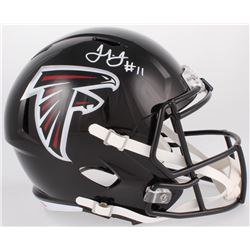 Julio Jones Signed Atlanta Falcons Full-Size Speed Helmet (JSA COA)