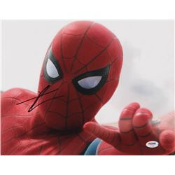 "Tom Holland Signed ""Captain America: Civil War"" 11x14 Photo (PSA COA)"