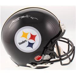 Antonio Brown Signed Pittsburgh Steelers Full-Size Authentic On-Field Helmet (JSA COA)