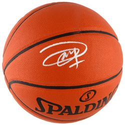 Joel Embiid Signed Basketball (Fanatics Hologram)