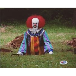 "Tim Curry Signed ""It"" 8x10 Photo (PSA COA)"