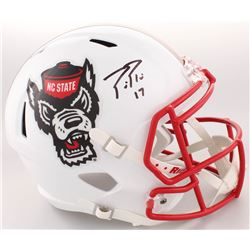 Philip Rivers Signed NC State Wolfpack Full-Size Speed Helmet (Radtke COA)