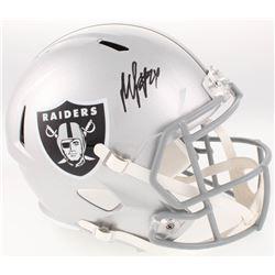 Marshawn Lynch Signed Oakland Raiders Full-Size Speed Helmet (Radtke COA)