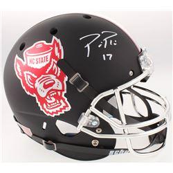Philip Rivers Signed NC State Wolfpack Full-Size Helmet (Radtke COA)