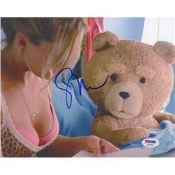 "Seth MacFarlane Signed ""Ted"" 8x10 Photo (PSA COA)"