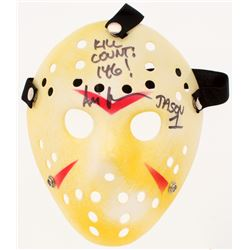 "Ari Lehman Signed ""Friday the 13th"" Jason Voorhees Mask Inscribed ""Kill Count: 146!""  ""Jason 1"" (PA"