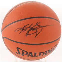 Kobe Bryant Signed NBA Basketball (PSA Hologram)