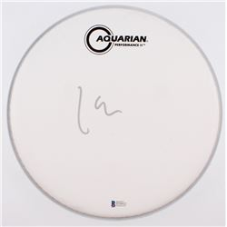 "Lars Ulrich Signed 10.5"" Drumhead (Beckett COA)"