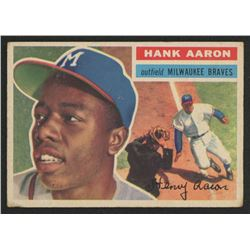1956 Topps #31A Hank Aaron GB