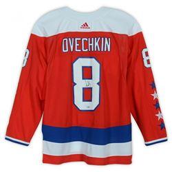 Alexander Ovechkin Signed Washington Capitals Captain Jersey (Fanatics Hologram)