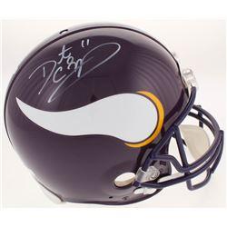 Daunte Culpepper Signed Minnesota Vikings Throwback Full-Size Authentic On-Field Helmet (Radtke COA)