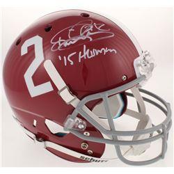 "Derrick Henry Signed Alabama Crimson Tide Full-Size Helmet Inscribed "" '15 Heisman"" (Radtke COA  Hen"