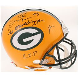 """Gilbert Brown Signed Green Bay Packers Full-Size Authentic On-Field Helmet Inscribed """"The Gravedigge"""