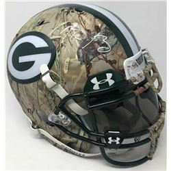 Aaron Rodgers Signed Green Bay Packers Limited Edition Custom Hydro Dipped Full-Size Authentic On-Fi