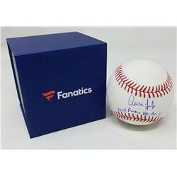 "Aaron Judge Signed Limited Edition OML Baseball Inscribed ""MLB Rookie HR Rec 52"" (Fanatics Hologram)"
