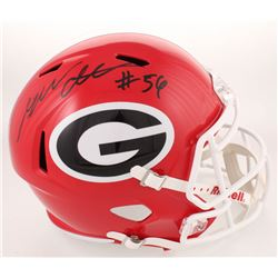 Geno Atkins Signed Georgia Bulldogs Full-Size Speed Helmet (Radtke COA)