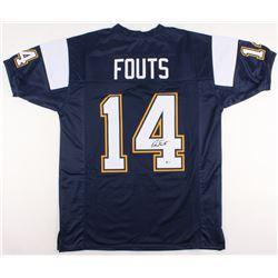 Dan Fouts Signed  Jersey (Beckett COA)