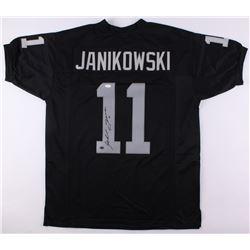 Sebastian Janikowski Signed Jersey (JSA COA  Janikowski Hologram)