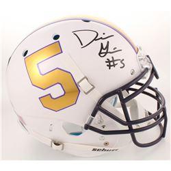 Derrius Guice Signed LSU Tigers Full-Size Authentic On-Field Helmet (Radtke COA)
