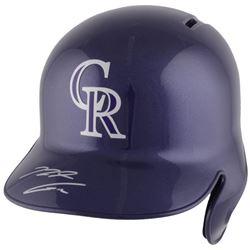 Nolan Arenado Signed Colorado Rockies Full-Size Batting Helmet (Fanatics Hologram)