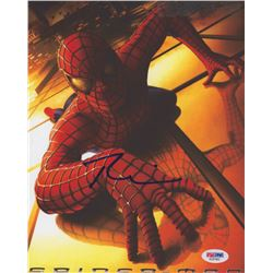 """Tobey Maguire Signed """"Spider-Man"""" 8x10 Photo (PSA COA)"""