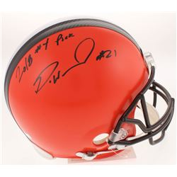 "Denzel Ward Signed Cleveland Browns Full-Size Authentic On-Field Helmet Inscribed ""2018 #4 Pick"" (Ra"