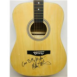 "Melissa Etheridge Signed Acoustic Guitar Inscribed ""Come To My Window"" (JSA COA)"