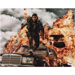 "Tom Hardy Signed ""Mad Max: Fury Road"" 11x14 Photo (PSA COA)"