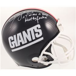 "Lawrence Taylor Signed New York Giants Full-Size Authentic On-Field Helmet Inscribed ""LT was a Bad '"