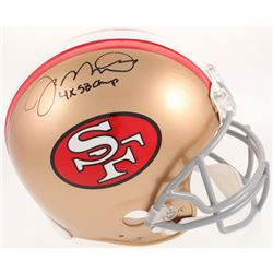 "Joe Montana Signed San Francisco 49ers Full-Size Authentic On-Field Helmet Inscribed ""4x SB Champ"" ("