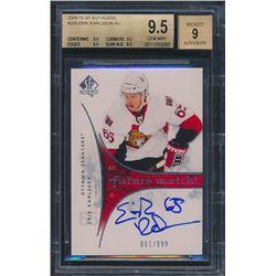 2009-10 SP Authentic #209 Erik Karlsson Autograph RC (BGS 9.5)