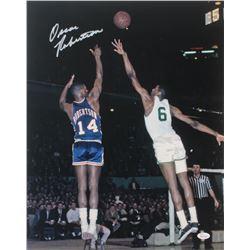 Oscar Robertson Signed Cincinnati Royals 16x20 Photo (JSA COA)