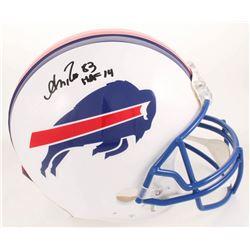 "Andre Reed Signed Buffalo Bills Full-Size Authentic On-Field Helmet Inscribed ""HOF '14"" (Radtke COA)"