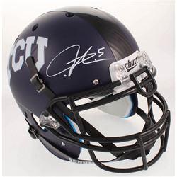 LaDainian Tomlinson Signed TCU Horned Frogs Full-Size Authentic On-Field Helmet (Radtke COA)