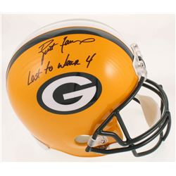 "Brett Favre Signed LE Green Bay Packers Full-Size Helmet Inscribed ""Last To Wear 4"" (Radtke COA)"