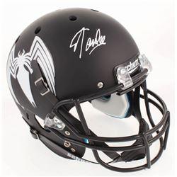 """Stan Lee Signed Custom """"Venom"""" Full-Size Helmet (Radtke COA  Lee Hologram)"""