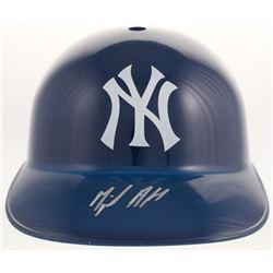 Miguel Andujar Signed New York Yankees Full-Size Replica Batting Helmet (Beckett COA)