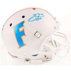 Emmitt Smith Signed Florida Gators Full-Size Throwback Helmet (Beckett COA)