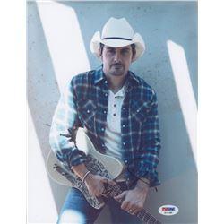 Brad Paisley Signed 8x10 Photo (PSA COA)