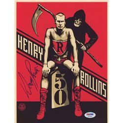 Henry Rollins Signed 8x10 Photo (PSA COA)