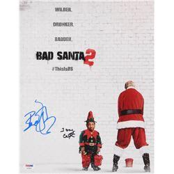 """Billy Bob Thornton  Tony Cox Signed """"Bad Santa 2"""" 11x14 Photo (PSA Hologram)"""