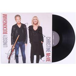 """Lindsey Buckingham  Christine McVie Signed """"Lindsey Buckingham Christine McVie"""" Vinyl Record Album ("""