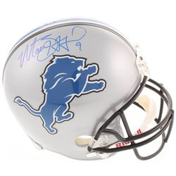 Matthew Stafford Signed Detroit Lions Full-Size Helmet (Stafford Hologram)