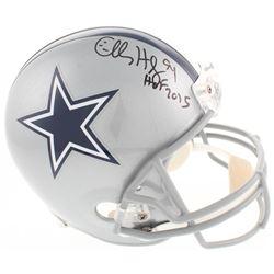 "Charles Haley Signed Dallas Cowboys Full-Size Helmet Inscribed ""HOF 2015"" (JSA COA  Radtke COA)"