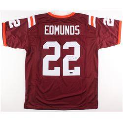 Terrell Edmunds Signed Jersey (Radtke COA)