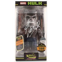 Stan Lee Signed LE Marvel Hikari Japanese Vinyl Funko Figurine (Radtke COA  Lee Hologram)