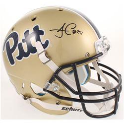 James Conner Signed Pittsburgh Panthers Full-Size Helmet (Radtke COA)
