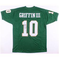 """Robert Griffin III Signed Jersey Inscribed """"Heisman 2011"""" (JSA COA)"""